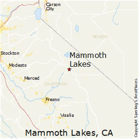 california map mammoth lakes best places to live in mammoth lakes california