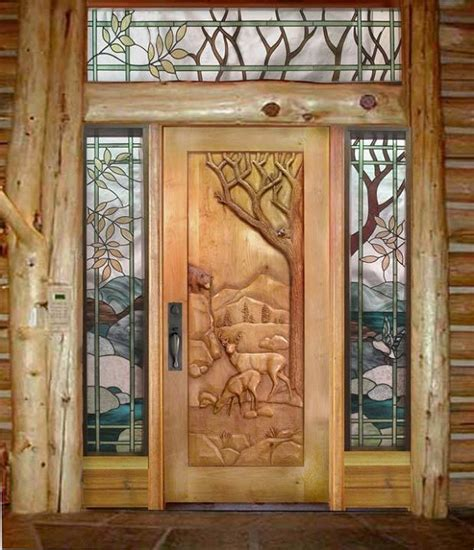 Carved Front Doors Carved Doors Home Design Garden Architecture Magazine