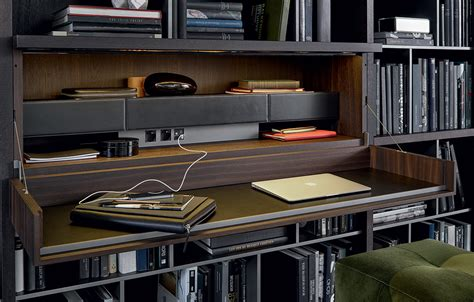 librerie poliform parete attrezzata wall system di poliform design cr s