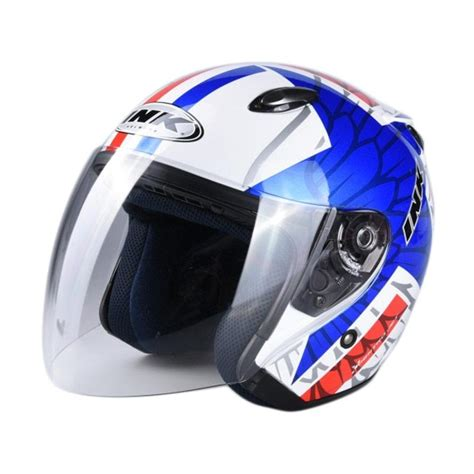 Helm Ink Half Centro Jual Ink 10 Centro Jet Helm Half White Blue