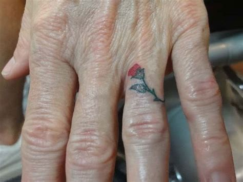 finger tattoo hd small finger tattoos for girls model