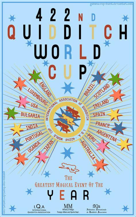 quidditch world cup blue poster quidditch world cup by gamma burst on deviantart