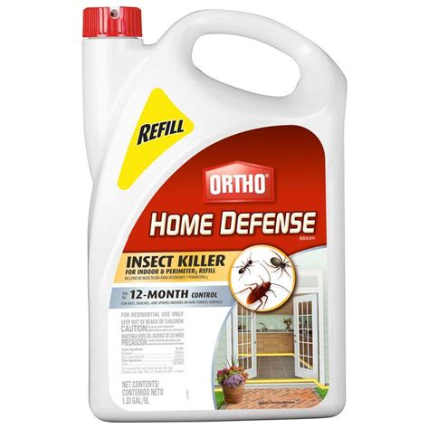 ortho bed bug spray ortho home defense max 1 33 gal insect killer refill