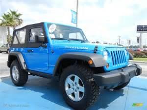 cosmos blue 2011 jeep wrangler rubicon 4x4 exterior photo