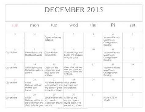 printable editable calendar december 2015 free editable printable december 2015 cleaning calendar