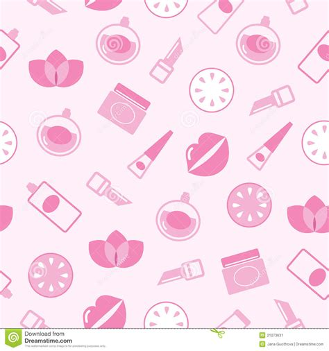 makeup pattern wallpaper cosmetics seamless pink pattern or texture backgr stock