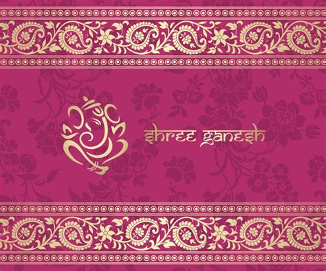 pink ethnic wallpaper indian ethnic pattern with pink backgrounds vector 01