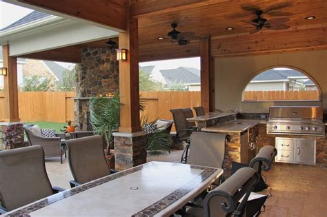 Hearth And Patio Houston Outdoor Kitchens And Fireplaces Contemporary Patio
