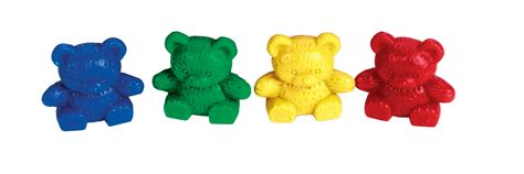 And Counters Counters Teddy Set Of 80 4 Colours