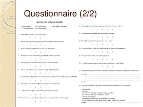 university blog vark questionnaire part 2 pma7 service design management presentation 1014
