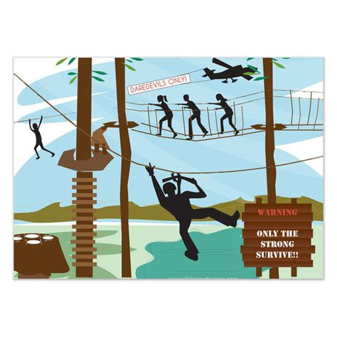 zipline adventure invitations amp cards on pingg com