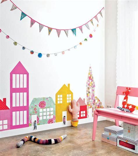 kids wall decor ideas  pinterest colorful wall