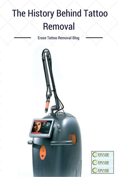 history of tattoo removal erase removal