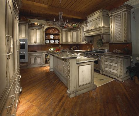 tuscany kitchen designs uniquely appealing distressed kitchen cabinets ideas and