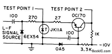 tunnel diode pulser schematic tunnel diode pulse generator basic circuit circuit diagram seekic