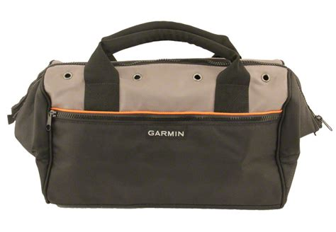 Bag Interior by Garmin Field Bag With Orange Lined Interior 39 99