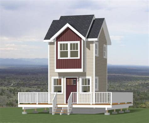 12x12 House Plans 12x12 Tiny House 12x12h5 282 Sq Ft Excellent Floor Plans