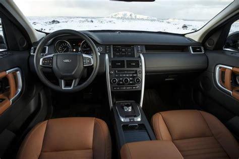 2016 land rover discovery interior 2015 land rover discovery sport review autoguide com news