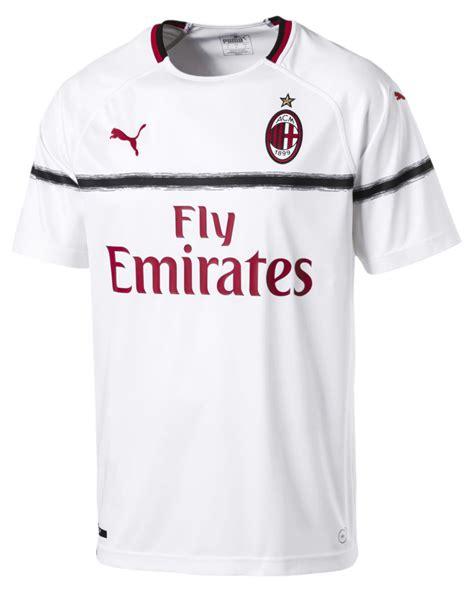 Ac Milan 19 ac milan away kit 2018 19 marca de gol