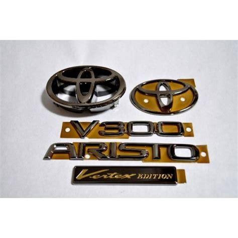 emblem logo toyota calya depan model vellfire lexus gs300 gs400 gs430 jdm vip aristo after model black