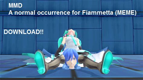 Mmd Meme Download - mmd meme a normal occurrence for miku dl by