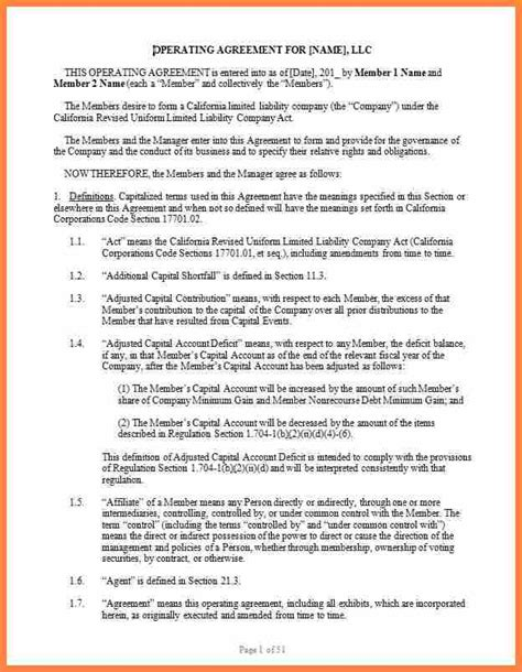 corporation agreement template 9 operating agreement corporation template purchase