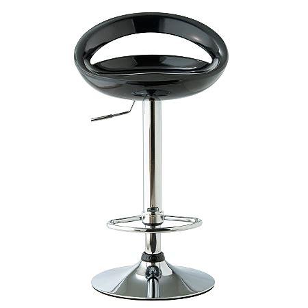 crescent bar stool crescent bar stool black bar stools asda direct