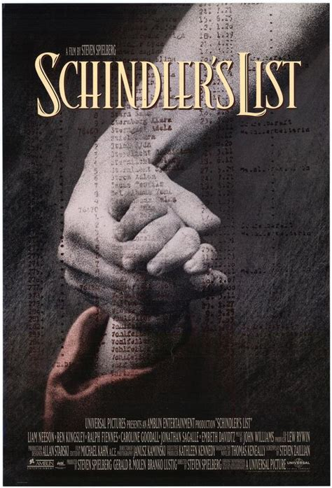 themes in schindler s list movie the designer of the week saul bass 171 h hour