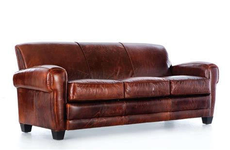Best Leather Furniture by 100 Top Grain Leather Sofa