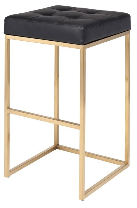 Gold Bar Stool by Gold Chi Bar Stool 29 5 Quot Modern Bar Stool
