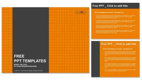 checkers board template orange checkers background powerpoint templates