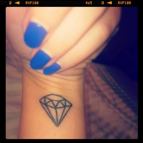 diamond tattoo simple my geo diamond tattoo simple tattoos piercings