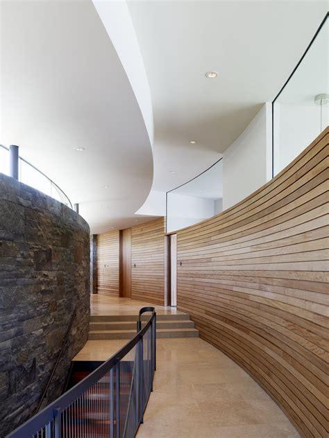 Wood Paneling Ideas Hall Modern With Glass Iron Railing | wood paneling ideas hall modern with glass iron railing