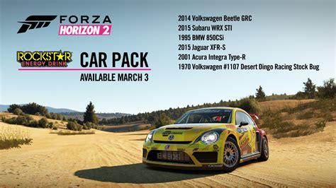 Forza Horizon 2 Rally Autos by Forza Horizon 2 Rockstar Energy Car Pack Foust