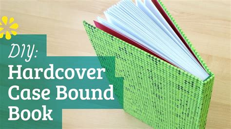 diy hardcover book bookbinding tutorial sea lemon