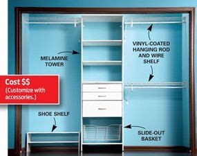 bolt bookcase to wall build a low cost custom closet closet rod drawer