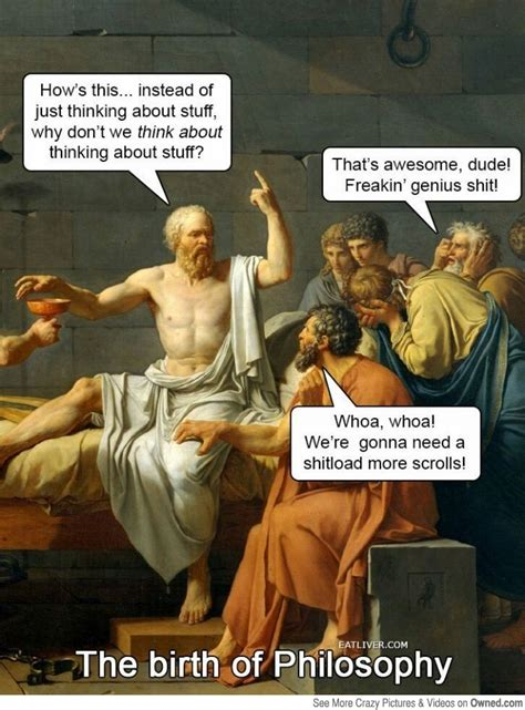 Philosopher Meme - fun images philosophy meme philosophy pinterest