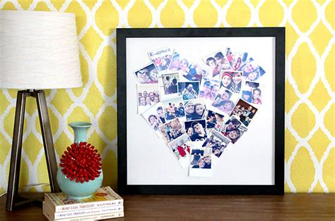Handmade Photo Gifts - 20 fantastic diy photo gifts for s day or