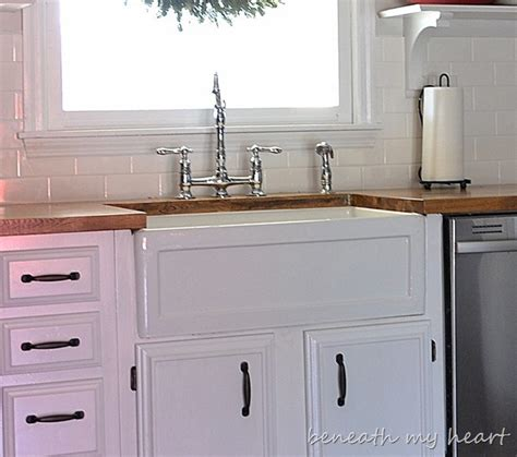 Cheap Kitchen Sinks And Faucets by Fireclay Farmhouse Sinks Durability And Quality