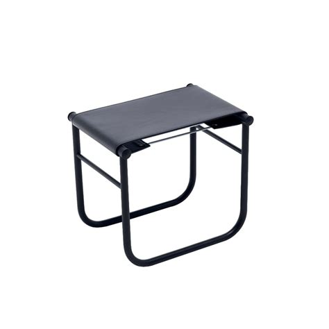 Cassina Tabouret by Lc9 Cuir Tabouret Cassina