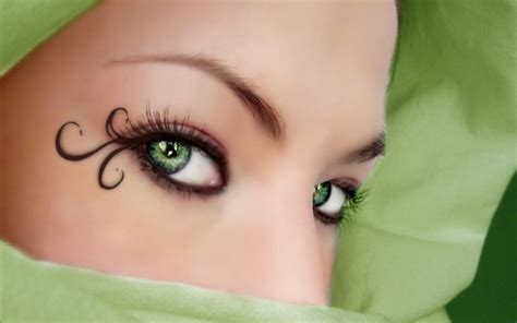 Green Eyed by With Green Images Green Eye Hd Wallpaper And
