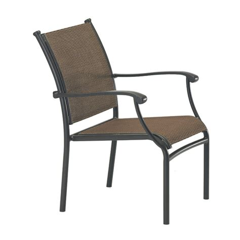 Patio Sling Furniture sorrento sling patio dining by tropitone free shipping