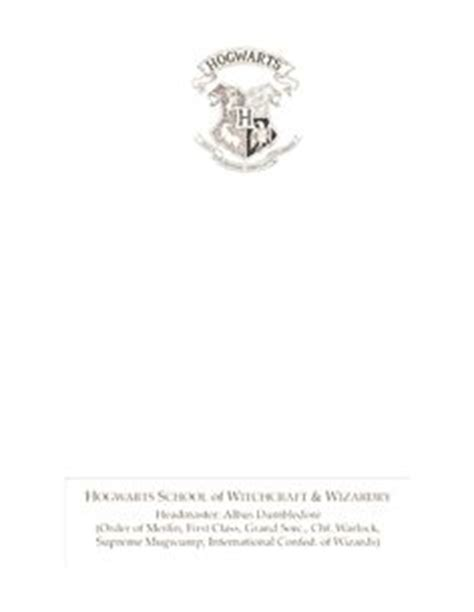 Hogwarts Acceptance Letter Stationery Hogwarts Acceptance Letter Letterhead Cookies Crafty Creations Hogwarts