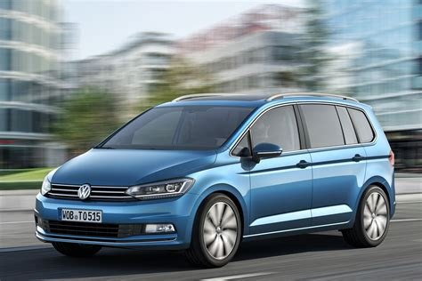 new volkswagen all new vw touran is bigger and more economical carscoops