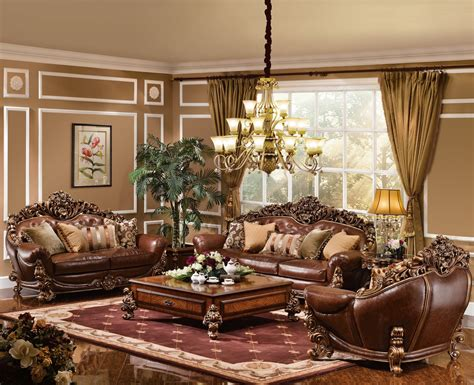 The Bronze Room by The Royale Formal Living Room Collection 14738