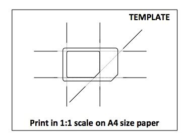 Micro Sim Card Template Letter Size Paper by Template Micro Sim Card What Is The Difference Between A