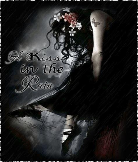 imagenes goticas emo y dark gothic sad girl kiss in the rain