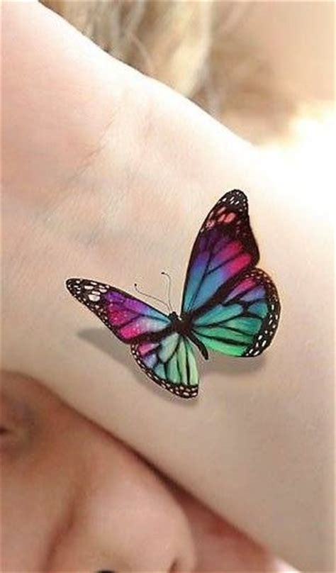 colorful butterfly tattoos best 25 colorful butterfly ideas on