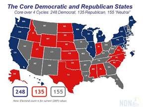 us map of republican and democratic states romano s weblog just another weblog