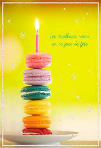 macarons french language birthday card greeting cards hallmark